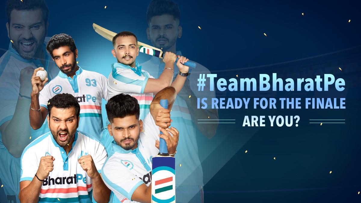 Get ready to cheer for the show stealers of grand finale #TeamBharatPe  #CheerForTeamBharatPe  #RohitSharma #shreyasiyer #jaspritbumrah #prithvishaw #rohitsharmafanss #iyerbhai #bumrahfans #cricketfever #indiancricket #cricketteam #cricketfansindia #sports #teamindia #mumbai