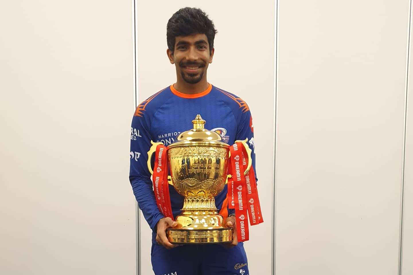 Jasprit Bumrah finished the season with 27 wickets in IPL 2020; highest by an Indian bowler in the history of IPL || Image Source: BCCI