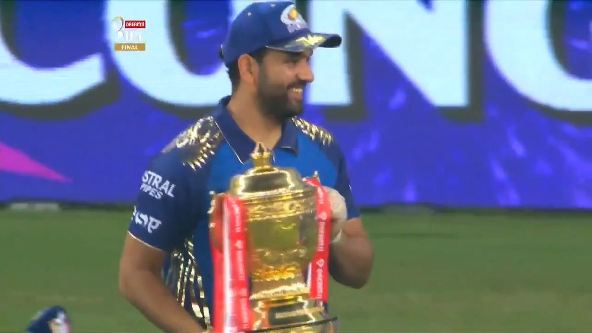 Happy that we gave people something to cheer for: @mipaltan' five-time IPL winning captain @ImRo45  👏🙌🏆  #Dream11IPL #Final #MIvDC