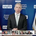 Image for the Tweet beginning: Yesterday, #USPTO Director Iancu and