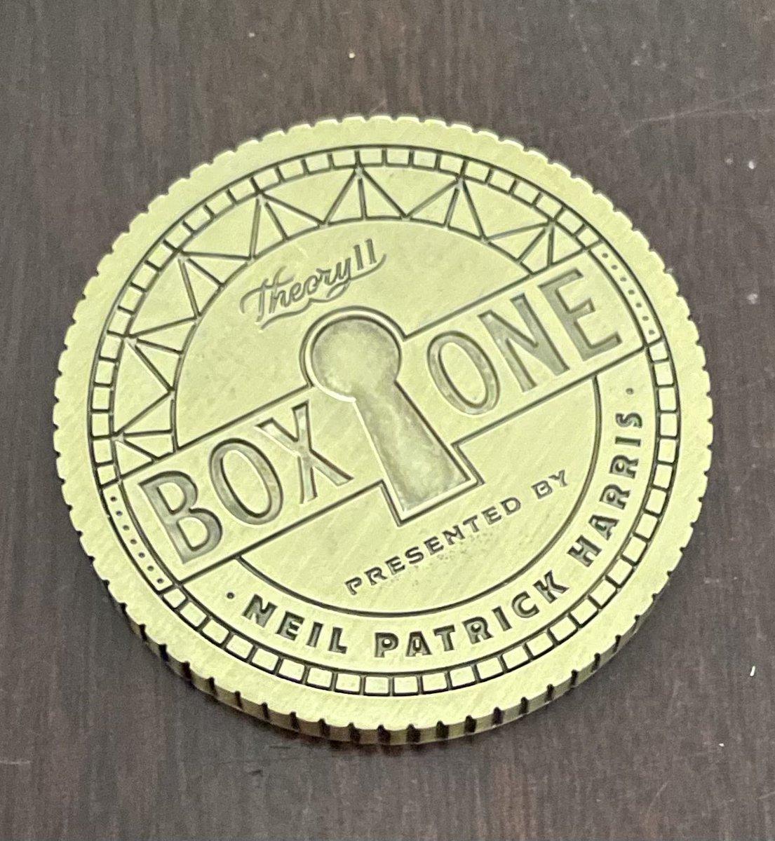 @ActuallyNPH @theory11 #theory11 #BoxOne