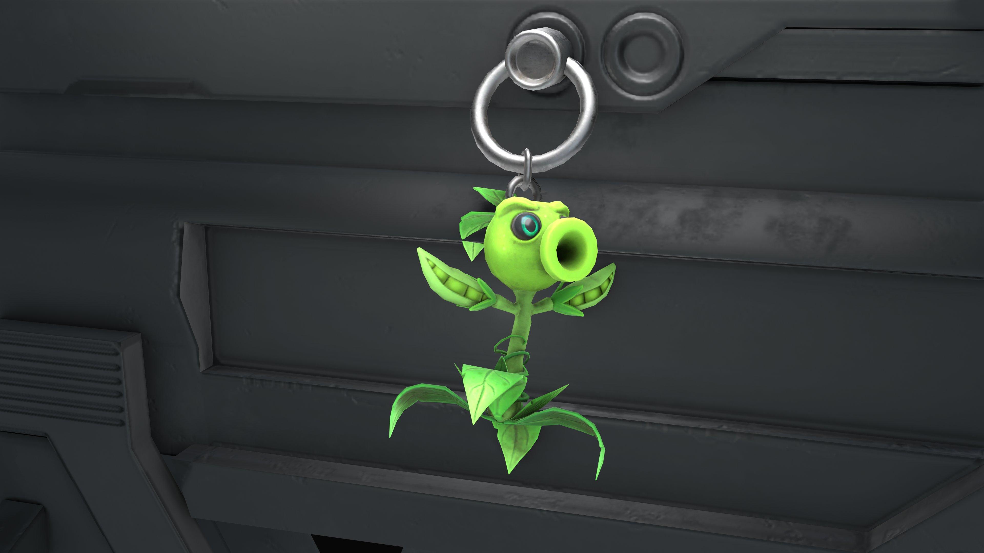 """""""EA Promo"""" Charms - Plants vs Zombies."""