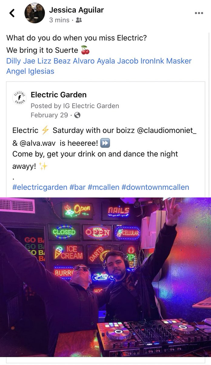 Tweet from electricgarden2