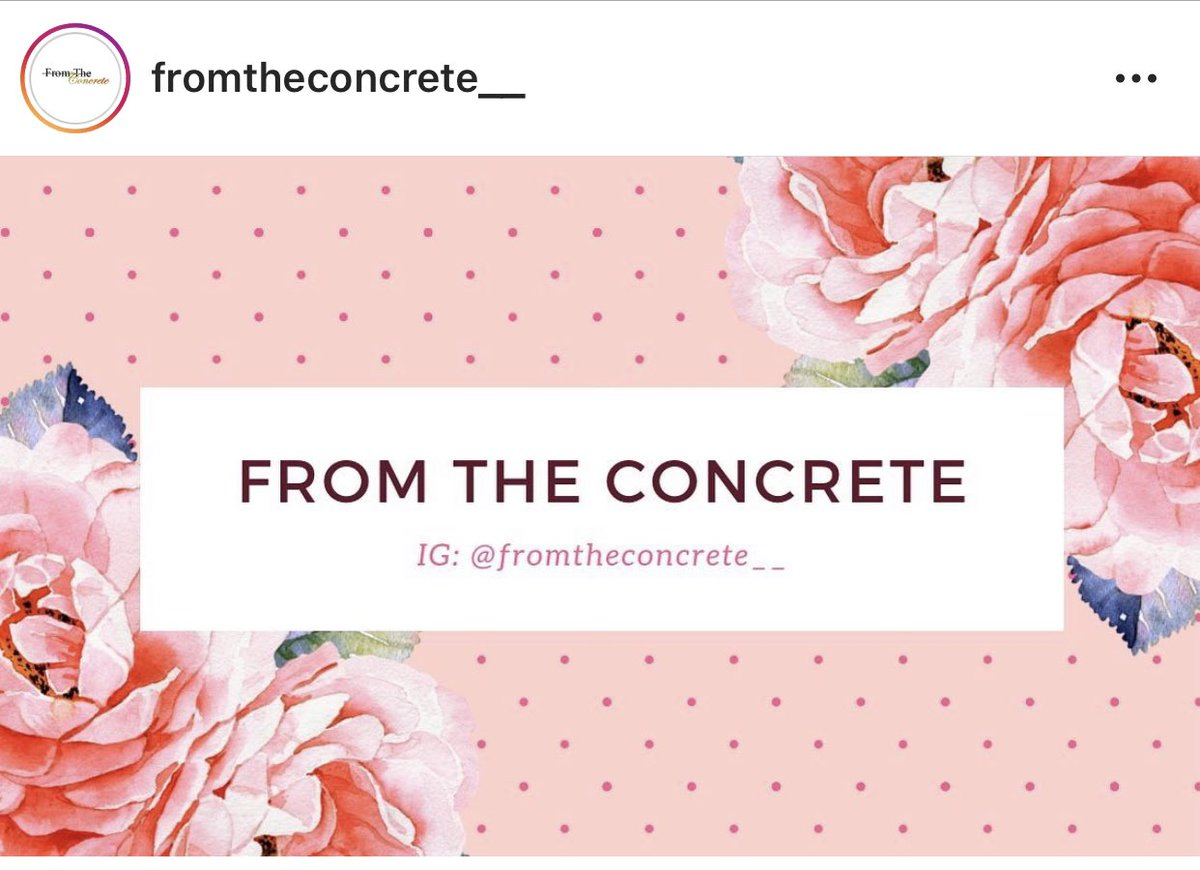 Go checkout @fromtheconcrete_ on Instagram for all your natural beauty products, hair elixirs, body scrubs and much more !!!!!#supportsmallbusiness #supportwomenrunbusinesses