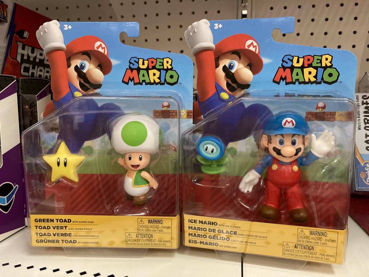 Well I'm a happy camper and already found the newest Mario figures I wanted by @JAKKStoys