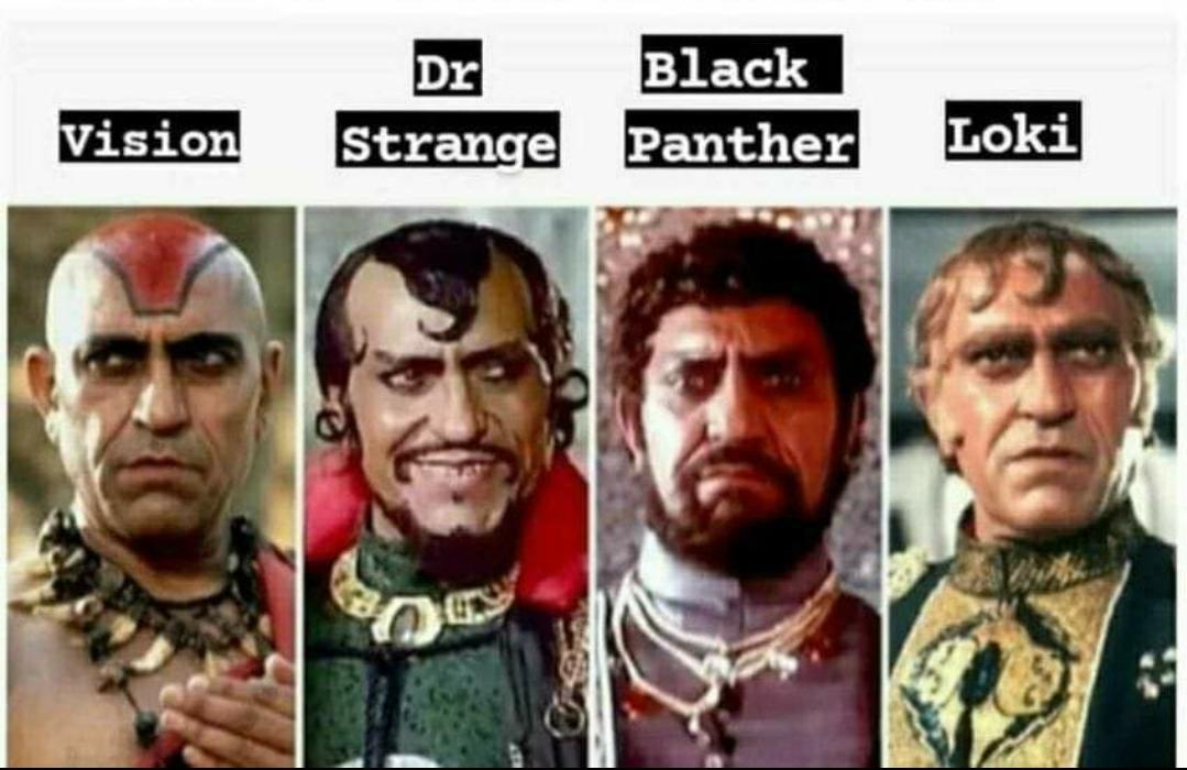 Bollywood did it long time before Hollywood 😜