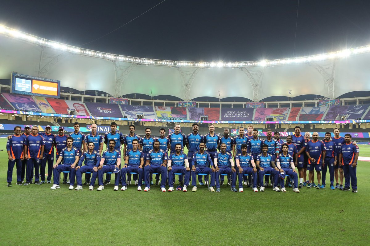 Valiant effort through the season. Loved being part of it. What an experience @mipaltan #OneFamily
