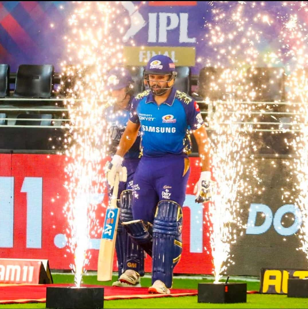 @ImRo45 @mipaltan Bow down guys he is a Champion. @ImRo45 ❤️  6th IPL Trophy as a Player. 5th IPL Trophy as Captain For @mipaltan