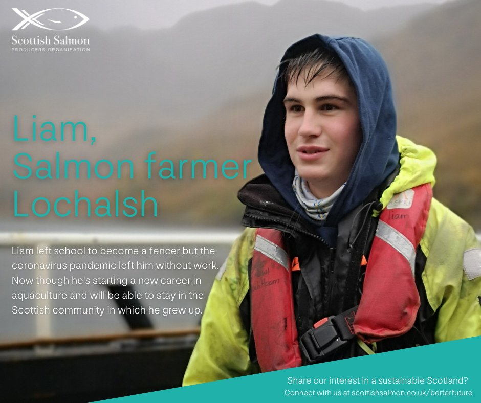 Scottish Salmon: Helping to sustain Scotland's remote rural communities scottishsalmon.co.uk/betterfuture #betterfuture