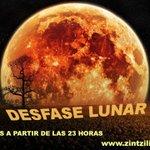 Image for the Tweet beginning: DESFASE LUNAR Construimos refugio -nuestro cuerpo