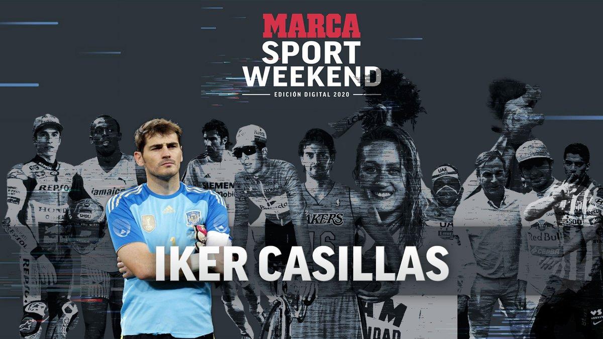 📍 ¡¡Ya queda menos!! 🧤 Este viernes a las 16.30, cita con 'El Santo' @IkerCasillas en el MARCA Sport Weekend 🇪🇸 El capitán sobre el que se cimentó la mejor selección española de la historia te espera en el evento del año   #MSW2020