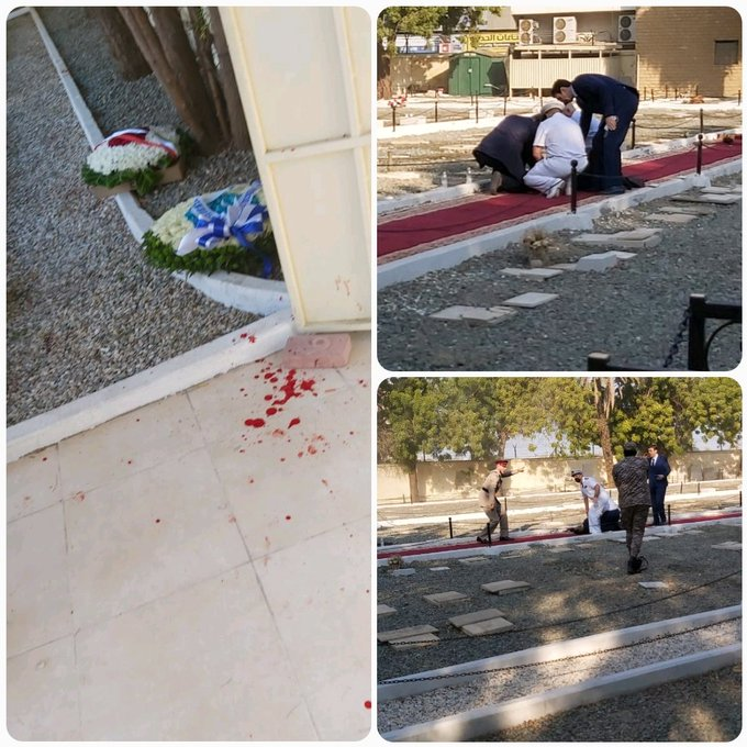 Several hurt in Remembrance Day 'bomb attack' at Saudi cemetery Emh87HSXYAAgAV2?format=jpg&name=small