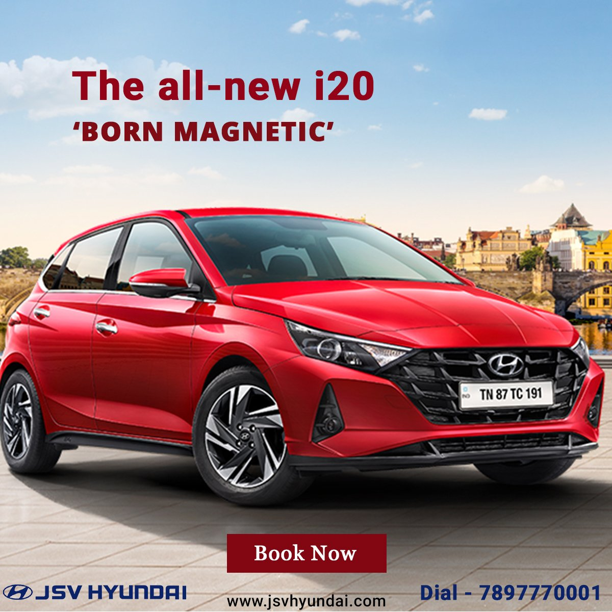 The all-new i20 - With its 'BORN MAGNETIC' attributes leaving an unforgettable impression #TheAllNewi20 #HappyNavratri #Lucknow #JSVHyundaiShowroom #Grandi10NIOS #NIOSLife #Elantra #HyundaiSantro #FamilyCar #Sporty #Xcent  #NewCreta2020 #Automobile #Venue #HyundaiVenue #booknow https://t.co/vHFILCRcZS