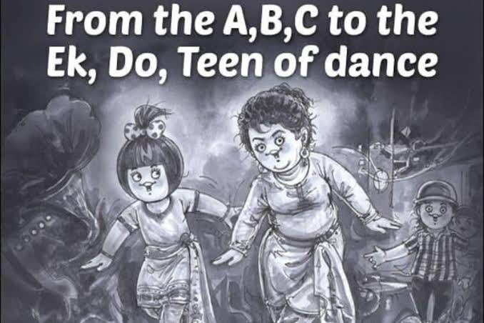To the legend who made the song Ek, Do, Teen iconic with her art and vision!  This ones for your Saroj ji! #32YearsOfTezaab  @Amul_Coop
