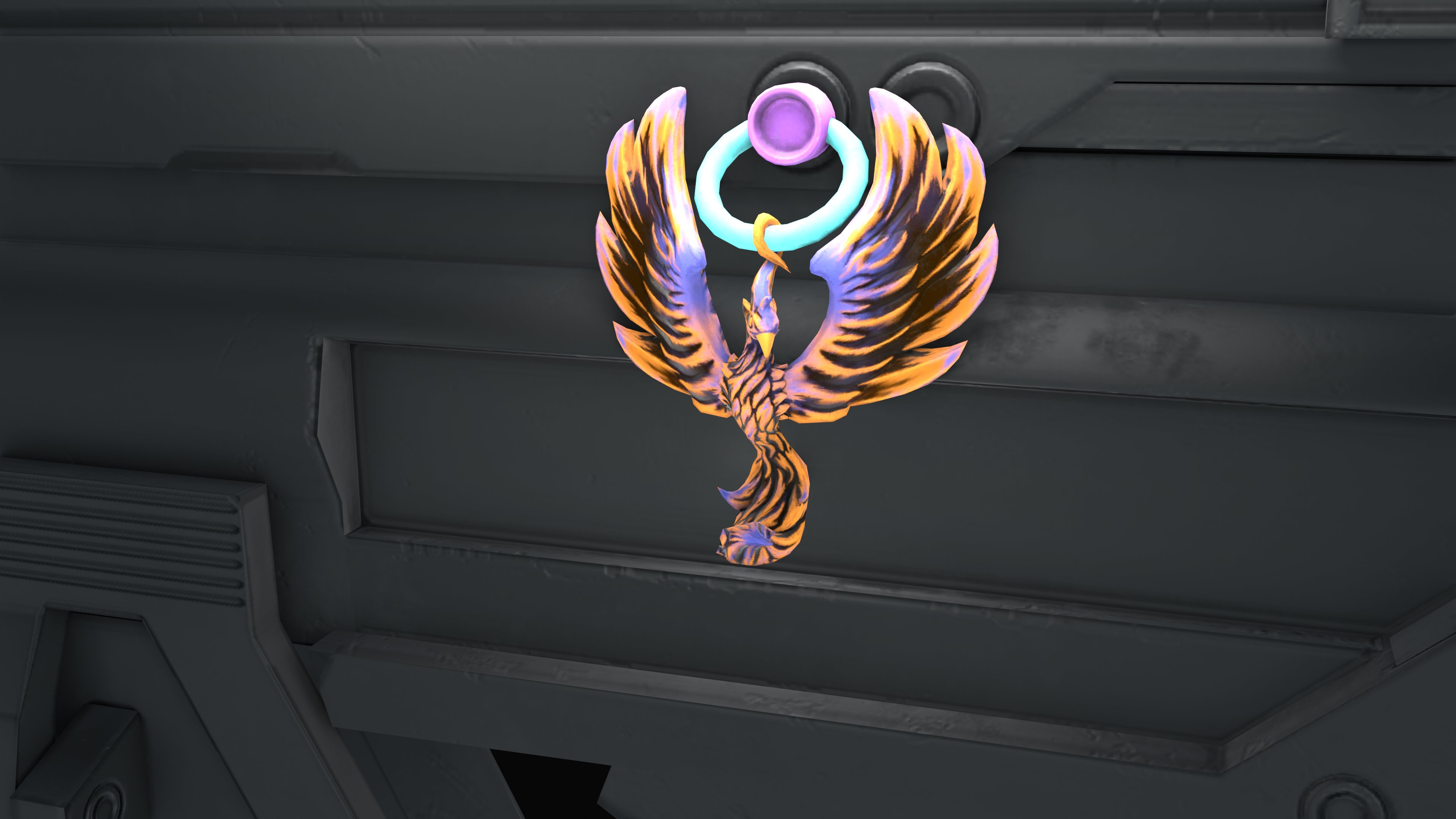 Phoenix charm // covid variant