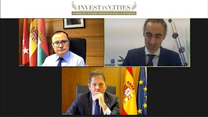 🖥️  👀 Empezamos el   - _invest ,  , con Ángel Viveros, Ignacio Alonso y Gerardo Cuerva ....