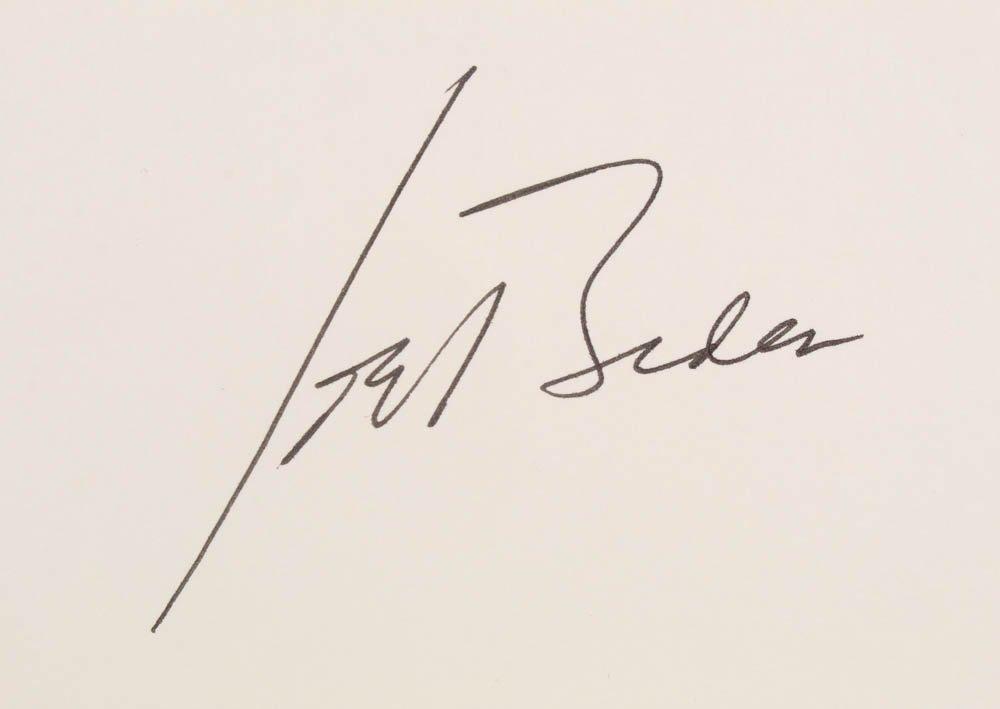 Dan Barker On Twitter Joe Biden Signature Donald Trump Signature Barack Obama Signature George W Bush Signature