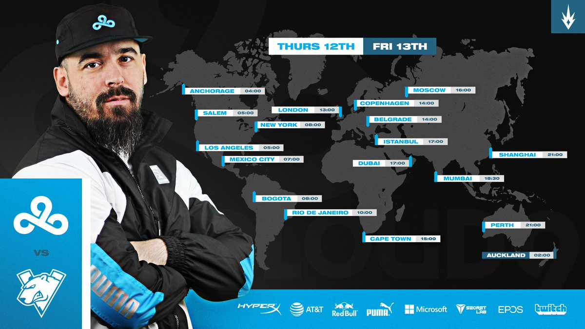Kassad - First official game tomorrow. You better be ready! #c9win