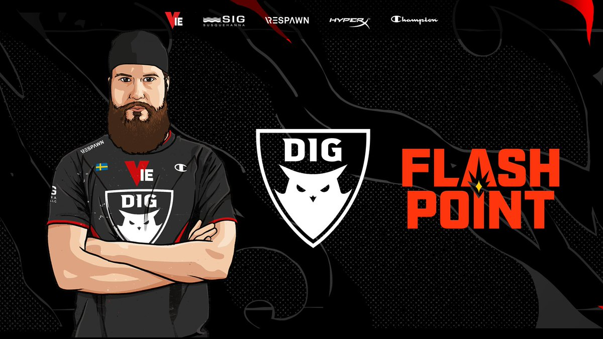 f0rest - So excited to start our journey in @Flashpoint 2, lets geeeeet it! #DIGWIN  14.00CET vs. MAD Lions