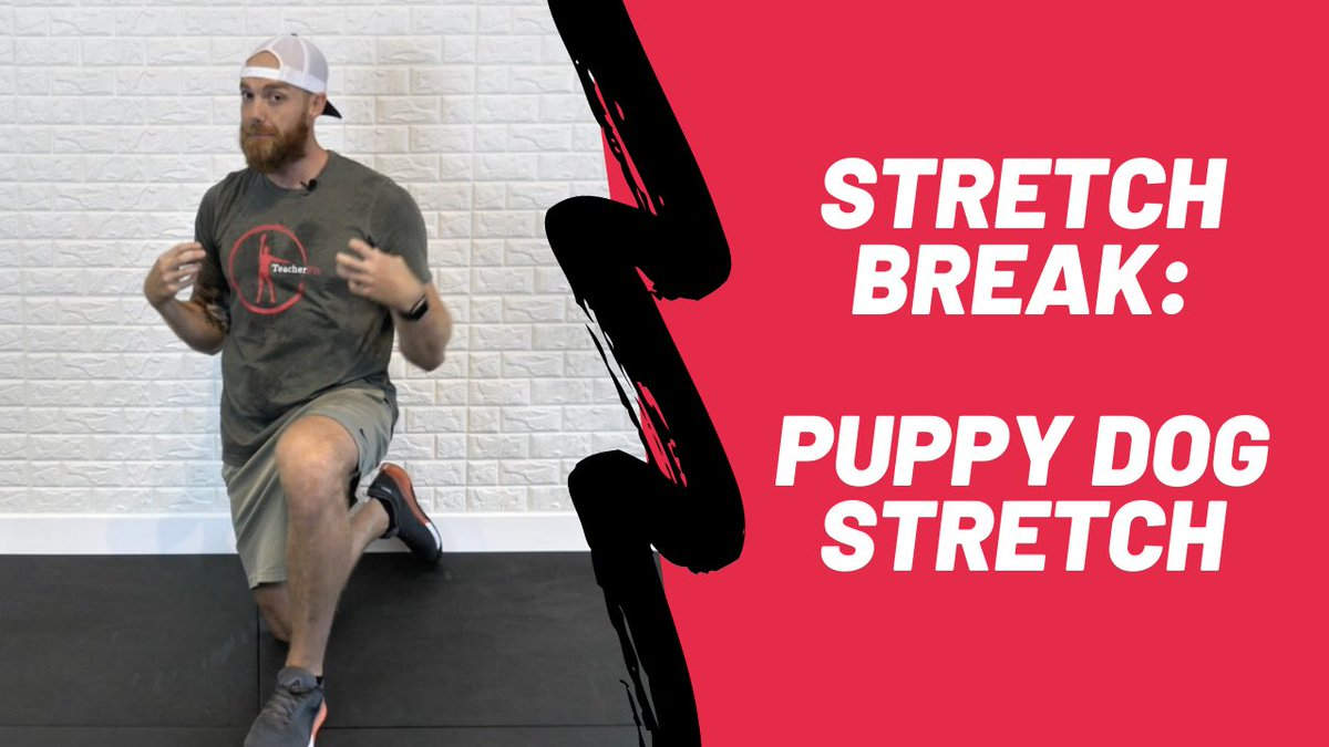 Need a quick class break for your students? Check out today's StudentFit Stretch Break youtu.be/FniLh82xiEI