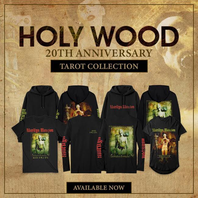 HOLY WOOD (In the Shadow of the Valley of Death) 20TH ANNIVERSARY - Tarot Collection  AVAILABLE NOW: https://t.co/5CPD5fb2hz https://t.co/fxN7BzDtcc