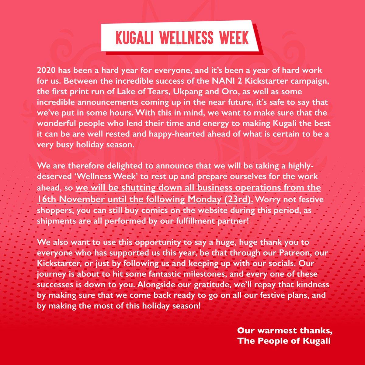 Kugali Wellness Week