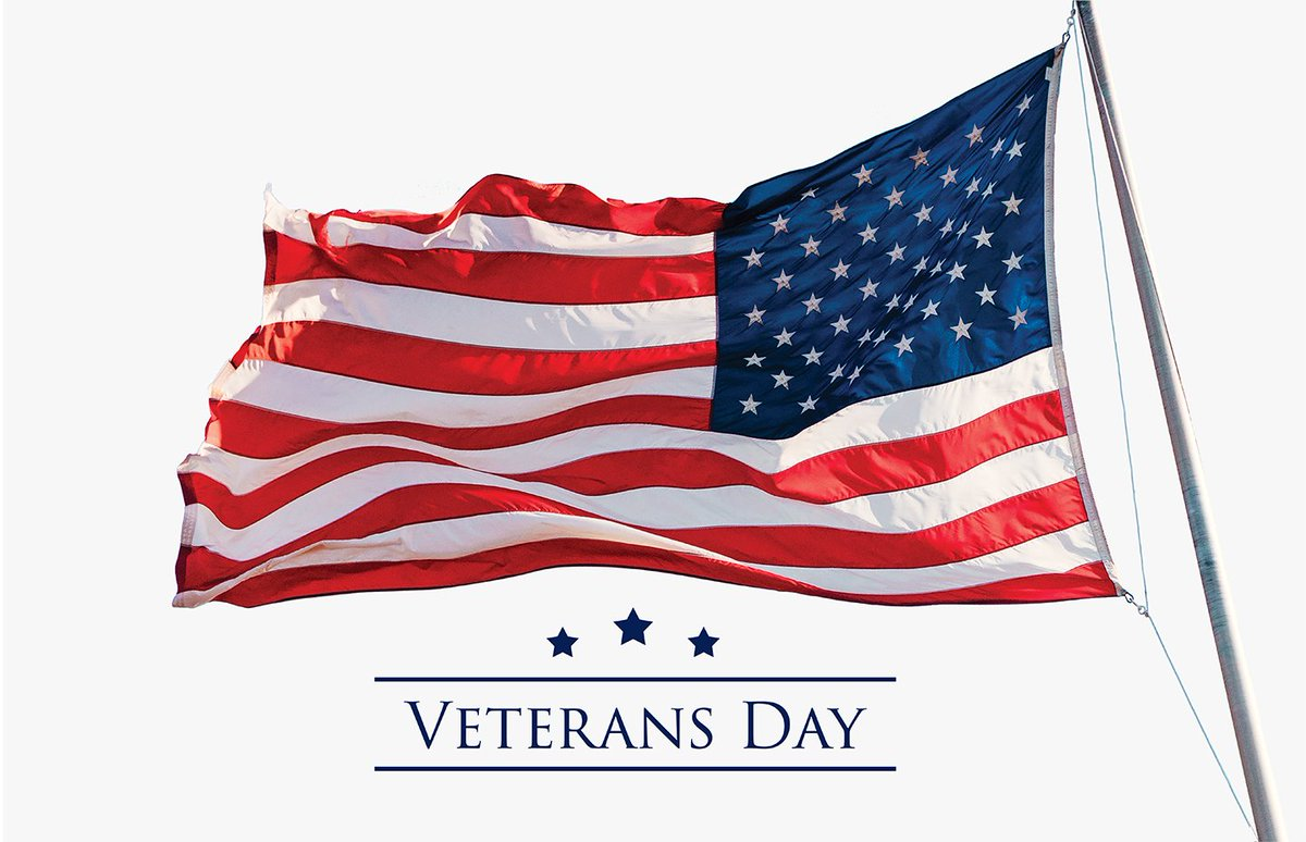 Thank you to all who have served and protected our freedoms! https://t.co/pZ9ihy4VGO