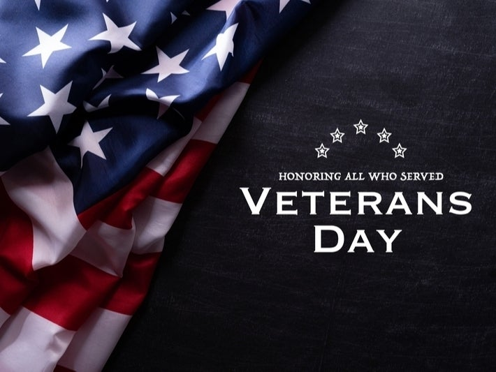 Thank you to all retired and active duty military members!  Thank you for your service to our country!   #VeteransDay2020
