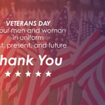 Image for the Tweet beginning: Thank You, Veterans.