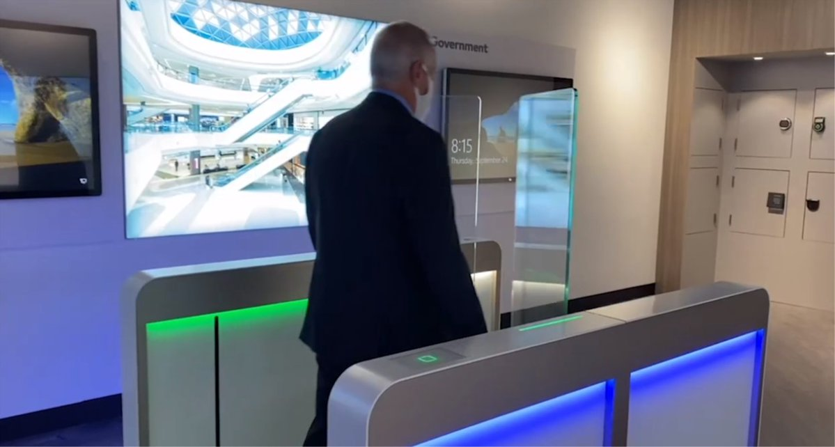 Have you seen our optical speed lane, the Argus Sensor Barrier?   See our Entrance & Physical Access Systems VP of Sales, Mark Borto, demonstrate how it works & the benefits for your specific application in this video from @SDMmagazine.   https://t.co/gdc59zqi2R #entrancesystems https://t.co/J56aseUQ3D