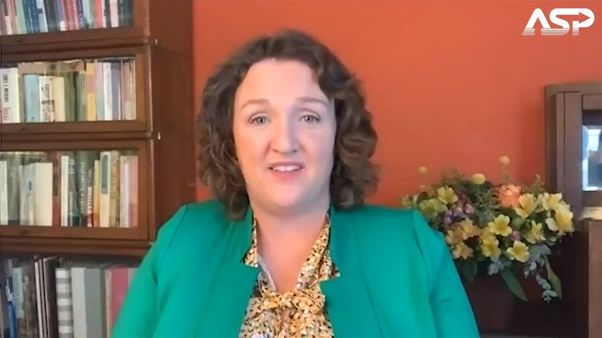 """""""What's the difference between an audit and a recount?"""" Hear @RepKatiePorter discuss the election process in her district on ASP 👉"""