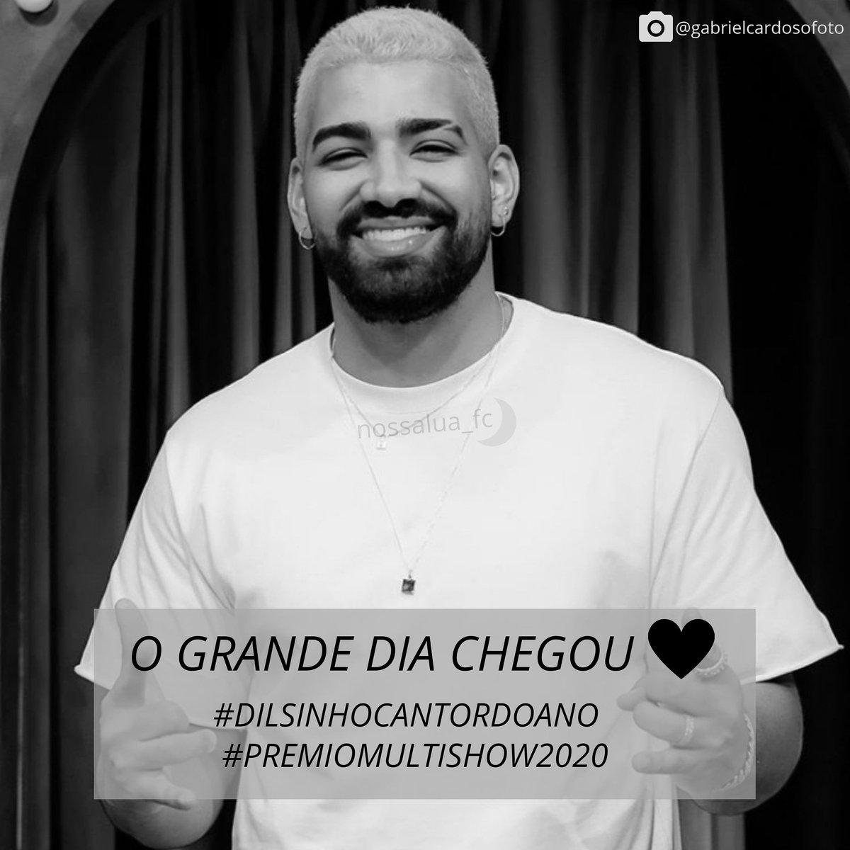Falta pouco amores.. .. Vibrações positivas 🤜🏼🤛🏼😍🌙 #dilsinho #dilsinhofc #dilsinhocantordoano #cantordoano #premiomultishow #premiomultishow2020 #multishow