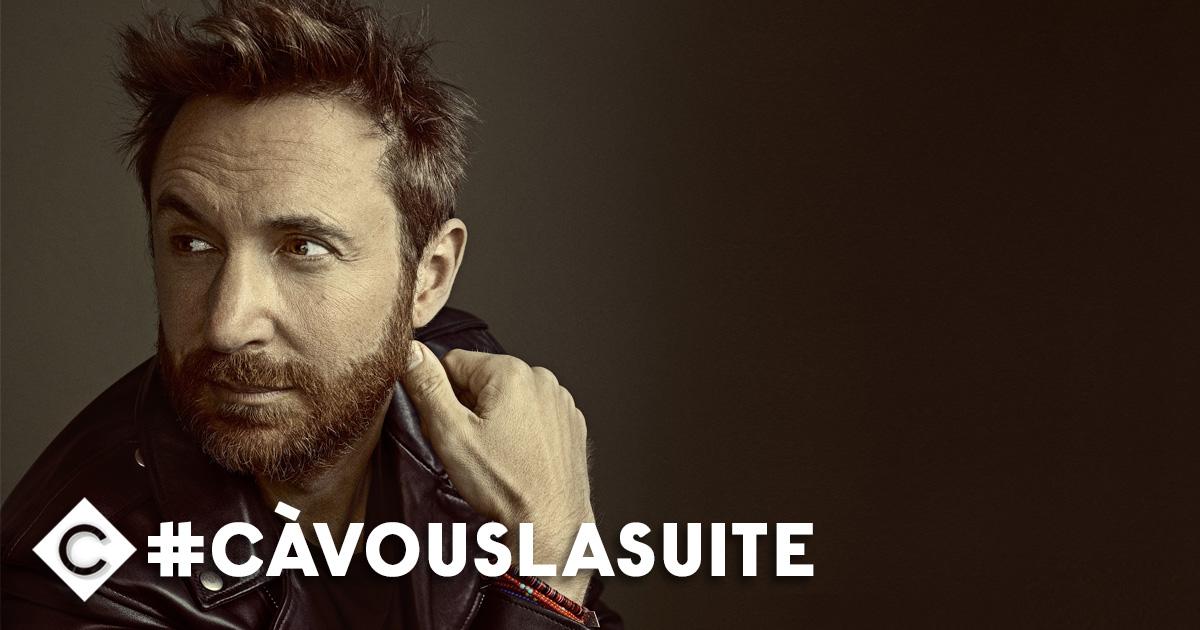 Dans #CàVouslasuite, le meilleur DJ au monde, tout simplement ! @DavidGuetta est l'invité de @BabethLemoine et de l'équipe de #CàVous 🕺  — 🕖20h 📺@France5tv —