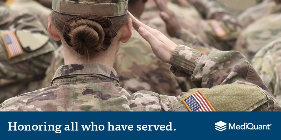 ...and especially grateful to the Veterans we're privileged to have on our staff. #HireVeterans
