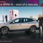 Image for the Tweet beginning: BMW iX flagship EV SUV