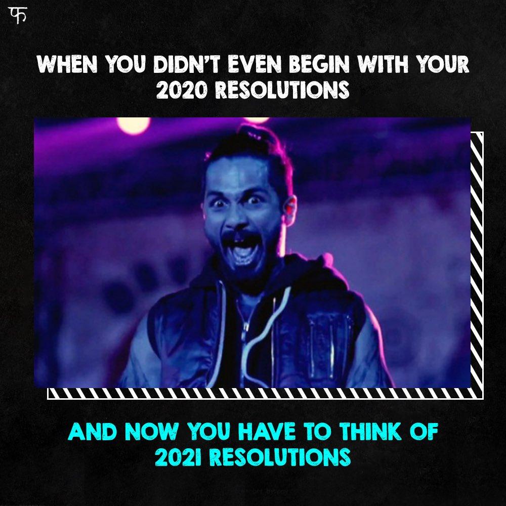 Resolutions ka rakhega kaun hisaab? #UdtaPunjab @shahidkapoor