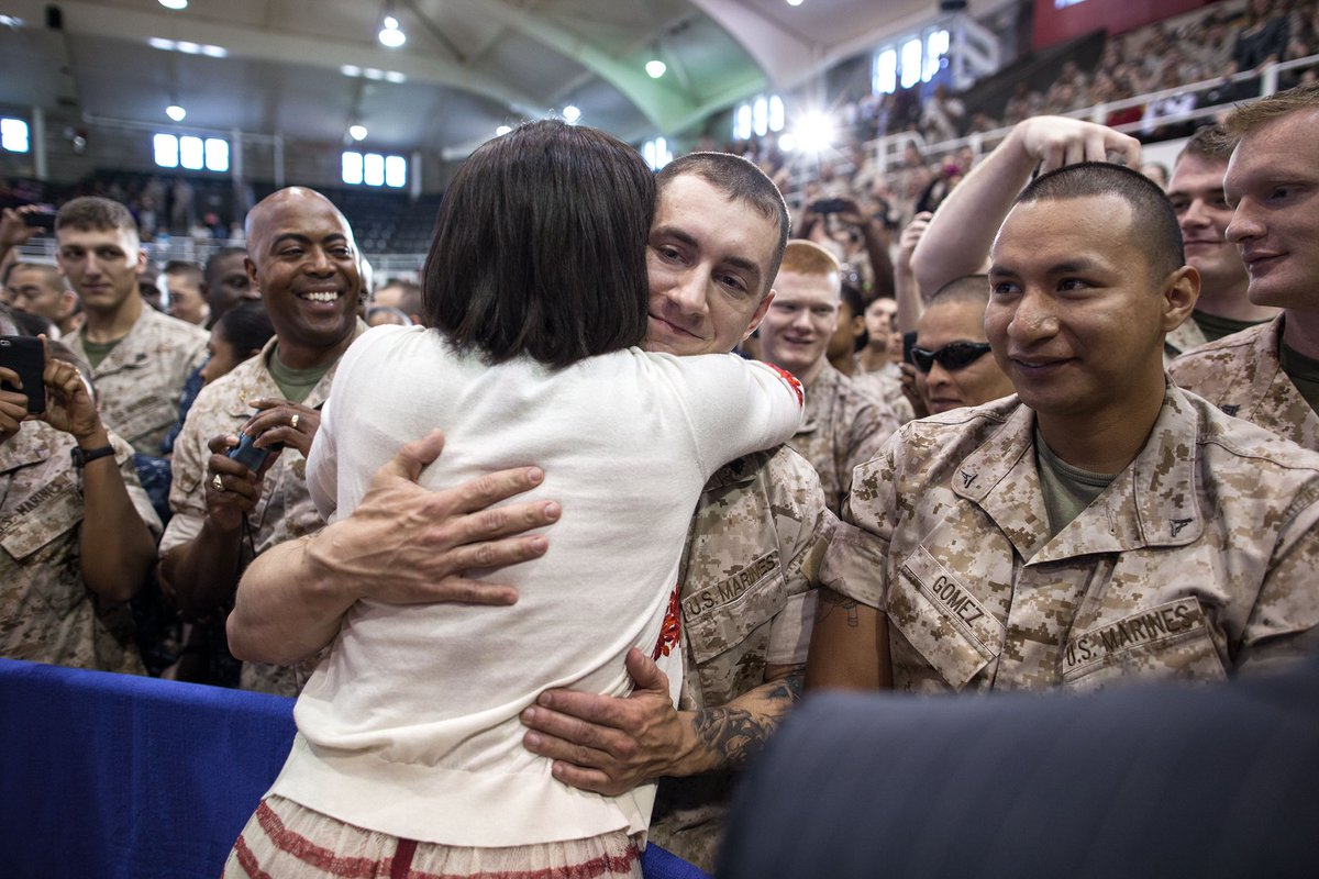 @MichelleObama @DrBiden Thank a veteran. Thank you for your service, for your courage ❤️