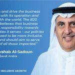 Image for the Tweet beginning: #B20SaudiArabia Sherpa, Dr. Abdulwahab Al-Sadoun,