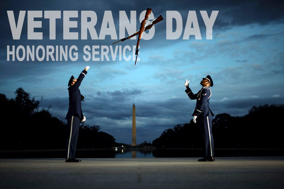 Honoring service Today we honor all veterans. Thank you for your service. #AimHigh #VeteransDay2020