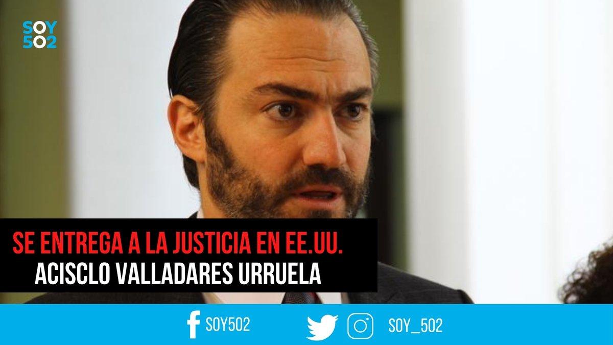🔔 URGENTE | Acisclo Valladares se entregó a la justicia en EE.UU.: