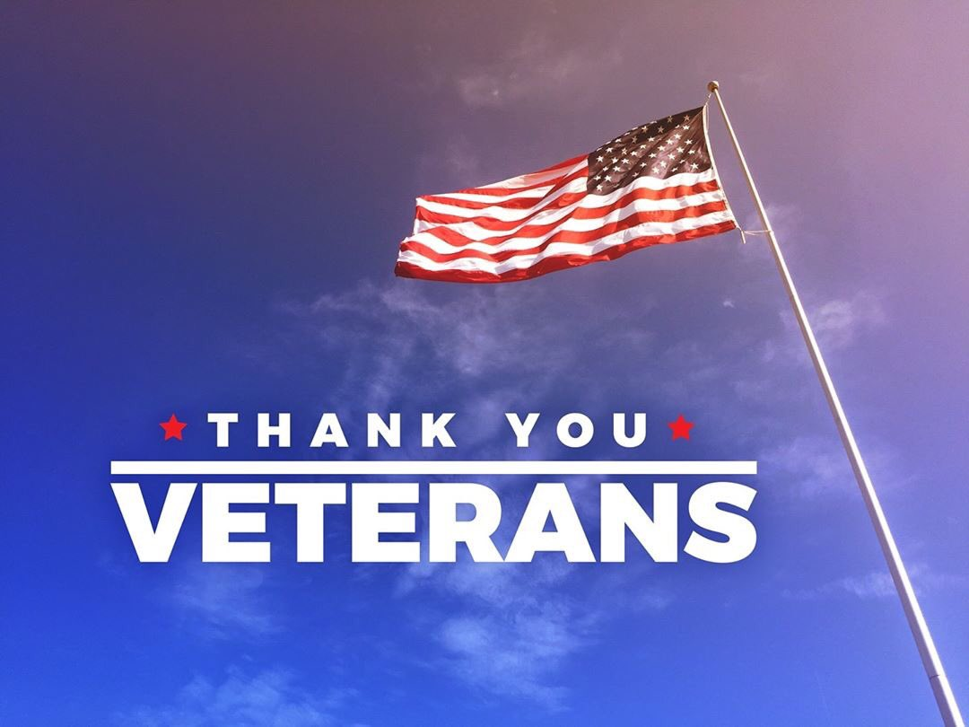 Honoring all who served. Thank you for your service. Happy Veterans Day! 🇺🇸