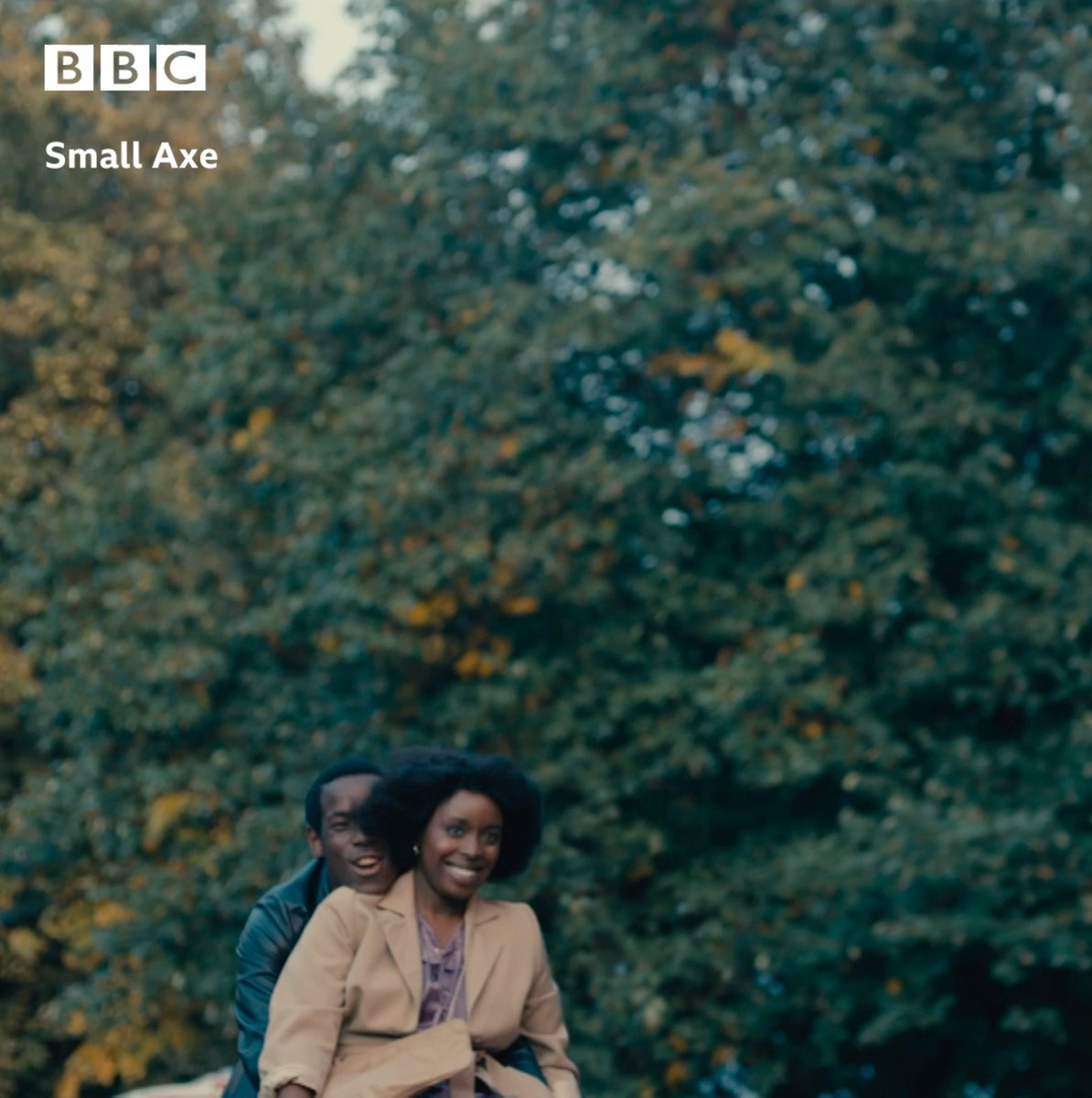 Get ready to fall in love ❤️️  Lovers Rock, part of the #SmallAxe anthology by Steve McQueen, is a fictional story of a couple who meet at a blues party in 1980.   Watch Sunday at 9pm on @BBCOne and @BBCiPlayer.