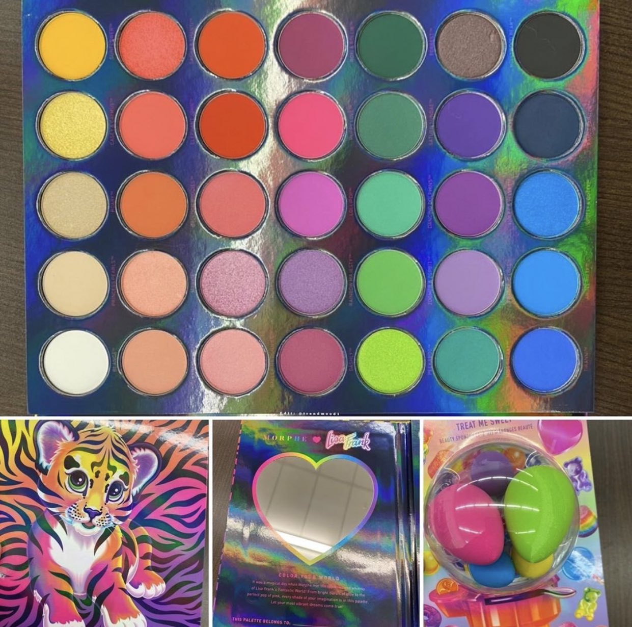 Trendmood On Twitter Revealed Spotted In Stores Omg A New Iconic Collaboration Morphebrushes X Lisafrank Morphexlisafrank Includes A Full Collection 1 Eyeshadowpalette 35b 30 2 Treat Me Sweet We leaned on morphe for their cosmetic product expertise, and they relied on us to take the design. trendmood on twitter revealed