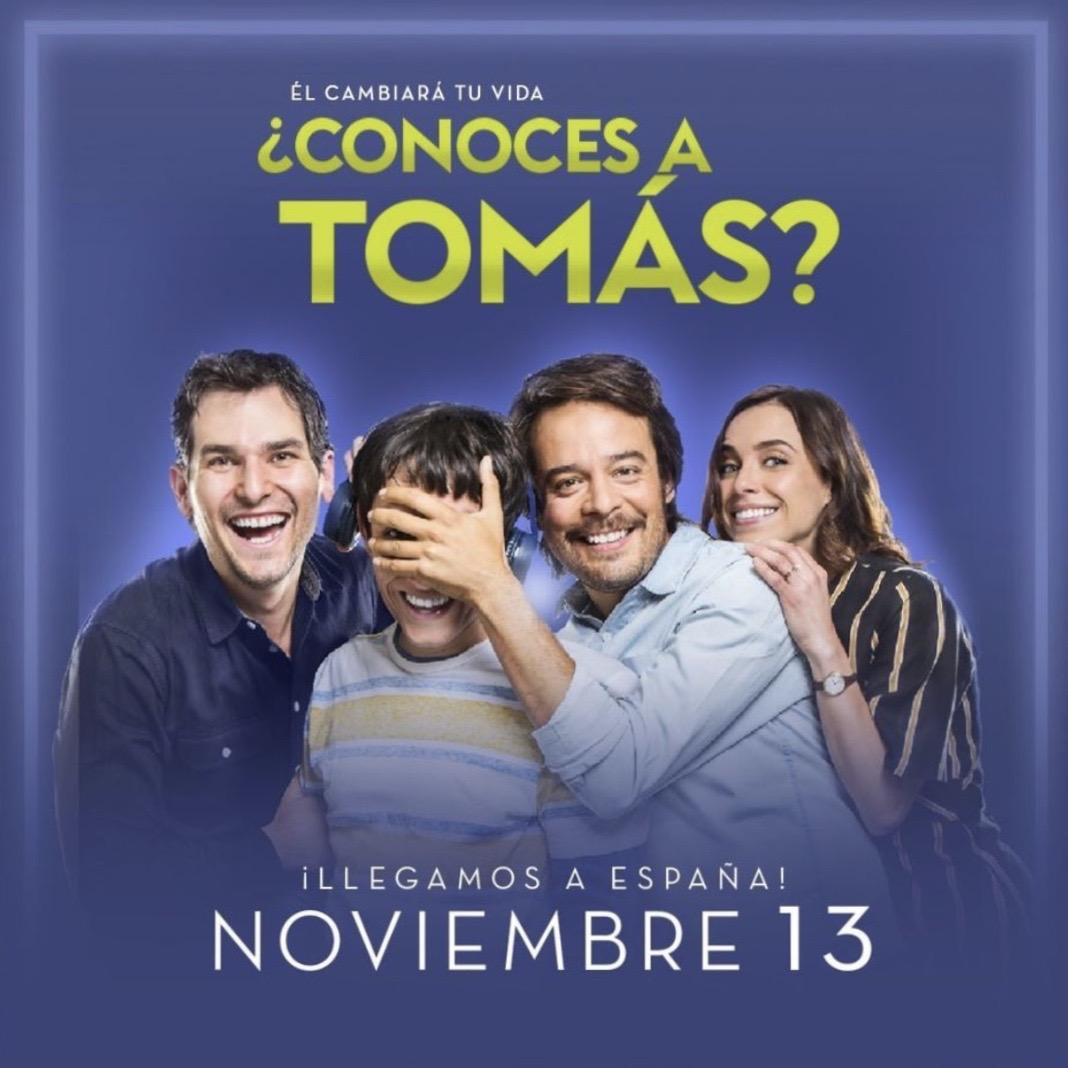 Este viernes 13 de nov se estrena en #España 🇪🇸¿Conocés a Tomás?, una película  dirigida por #MaríaTorres que tiene como personaje protagonista a un joven con trastorno del espectro del autismo (TEA). 🎞️ @ortizgrisleo, @marcelaguirado , @HozeMelendez y @alan_estrada
