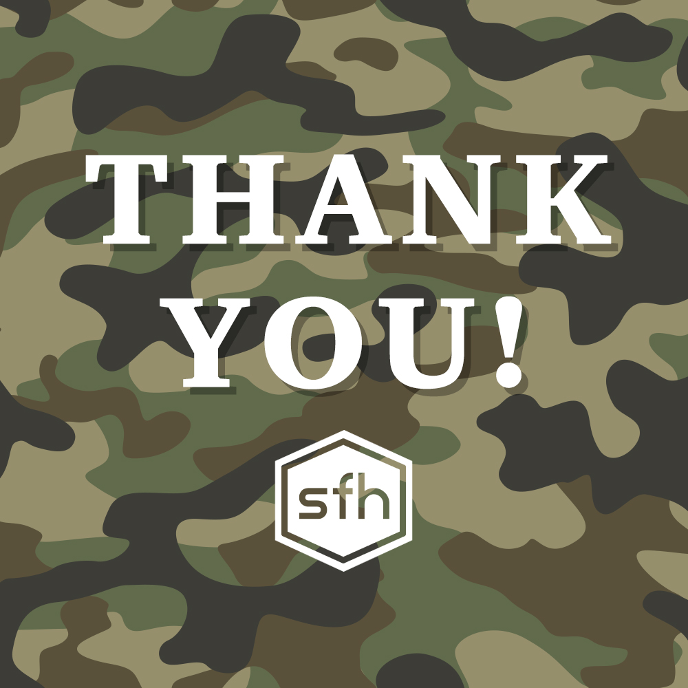 A BIG thank you to those who have served! 🙌   Did you know that we offer a discount for all service members? Check out the link below for more info! 💚  #VeteransDay
