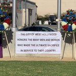 Image for the Tweet beginning: Thank you @WeHoCity and our