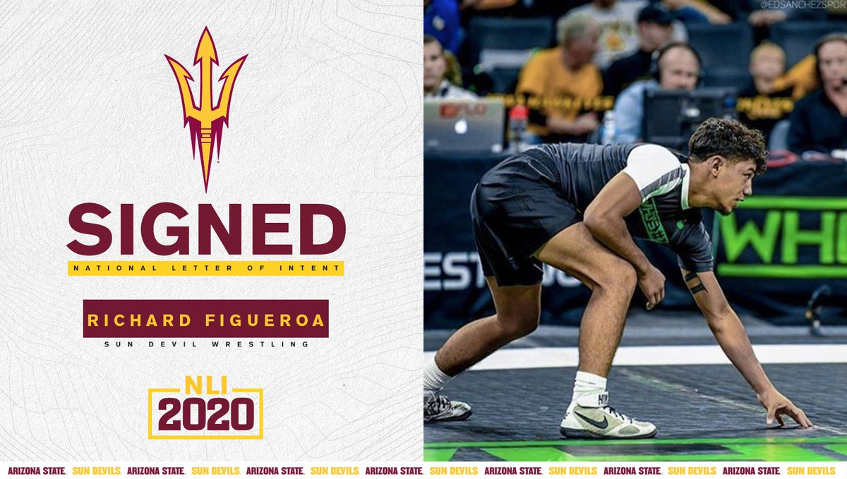 IT'S OFFICIAL‼️  The No. 1 P4P recruit in America 🇺🇸 is a Sun Devil 😈 🔱  Welcome to Tempe, @stunnamanrich! https://t.co/dYRwxZYDRe
