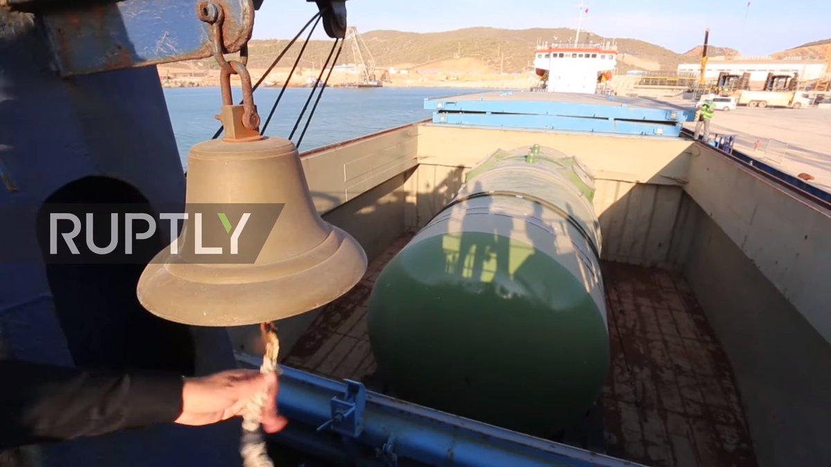 Корпус ядерного реактора для Турции