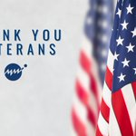 Image for the Tweet beginning: Thank you to all Veterans