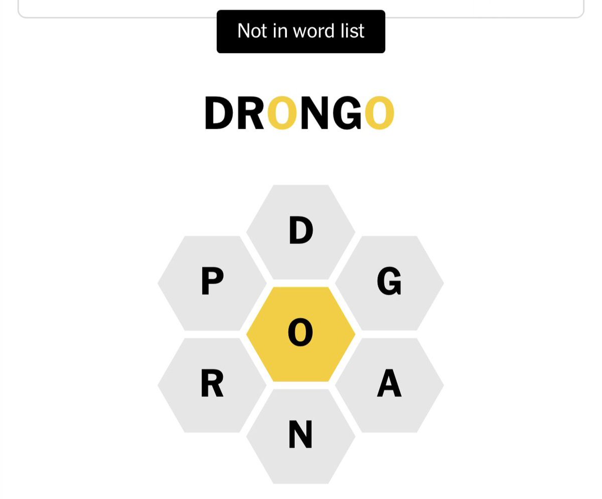 Always with the Tomtit but not drongo. Both passerine birds...#spellingbee https://t.co/VJI4HAwwMp